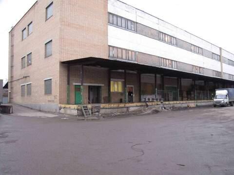 Склад в аренду 1100 м2, м.Кожуховская - Фото 1