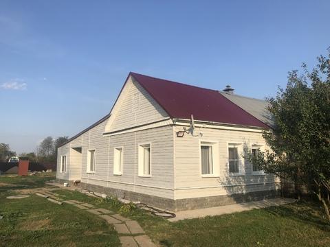 Жилой дом с газом, 100 кв.м, 7,5 сот земли, г. Чехов, 45 км от МКАД - Фото 3