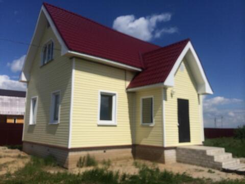Новый 2-этажный дом в газифицированной деревне Аленино - Фото 4