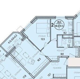 Продаётся 2-комнатная квартира г. Раменское, ул. Северное ш16а - Фото 1