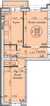 Продается 2-х комнатная квартира в Советском районе ул Родниковая д 7 - Фото 2