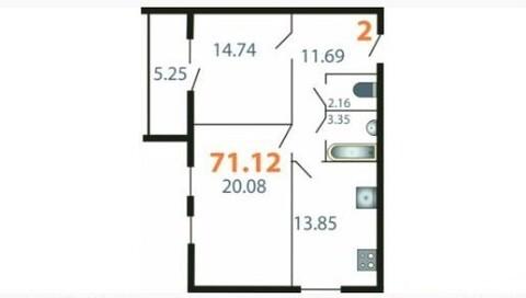 Подаю 2-х комнатную квартиру, г.Ковров, ул.Ватутина, 47 - Фото 1
