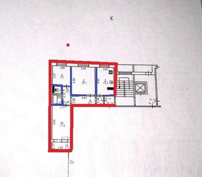 Купить трехкомнатную квартиру улучшенной планировки в Новороссийске. - Фото 2
