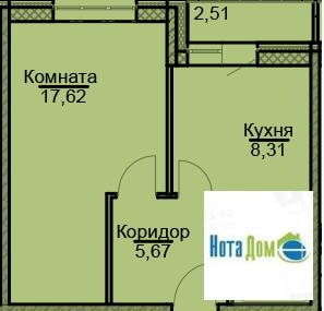 Продаётся 1-комнатная квартира по адресу Щорса 4 - Фото 5