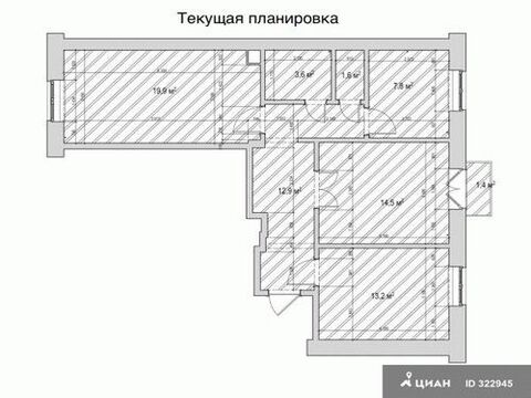 Продажа квартиры, м. Профсоюзная, Ул. Кржижановского - Фото 3