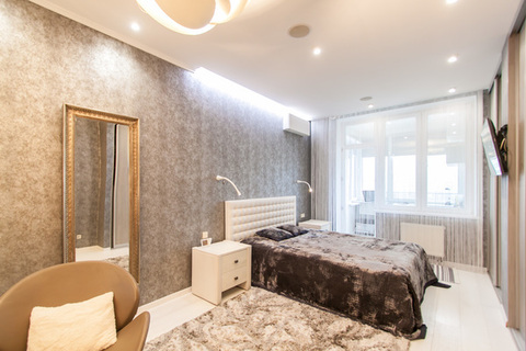 4 комнатная квартира с дизайнерским ремонтом - Фото 4