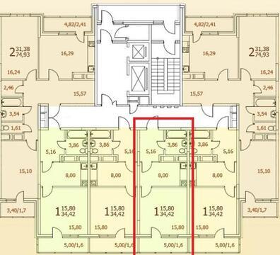 1 комнатная квартира Ногинск г, 3 Интернационала ул,6-7а - Фото 4