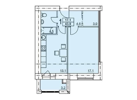 Продам срочно квартиру в новостройке ул. Забайкальская