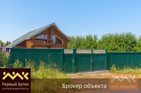 Настоящий Бревенчатый дом по цене клееного бруса - Фото 1