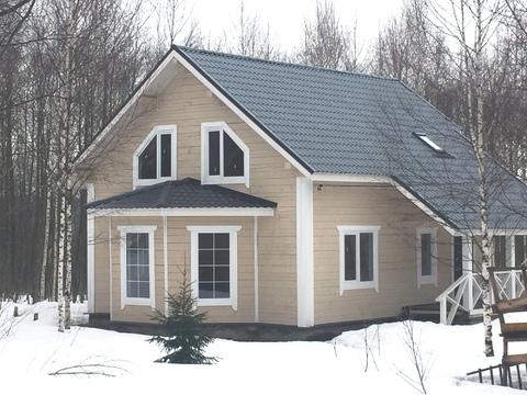 Дом 120 кв.м. на участке 15 соток, Продажа домов и коттеджей в Струнино, ID объекта - 502576791 - Фото 1