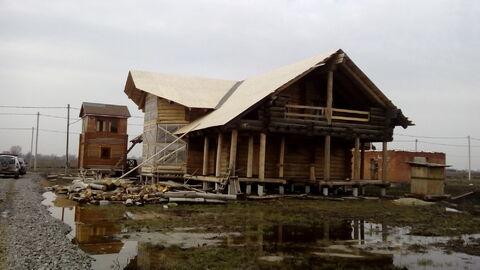 Продаю дом, карельской сосны, стройвариант, рядом ст. Ольгинская - Фото 1