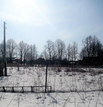 Участок 9 соток в д. Воробьи, свет, газ, водопровод - Фото 2