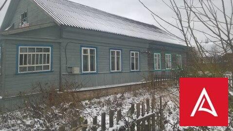 Квартира в двухквартирном деревянном доме Тверская область, д. Горицы - Фото 1