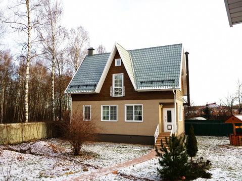 Жилой дом 140 кв.м, + 125 кв.м. гостевой дом-баня. Газ. ИЖС 13 сот. - Фото 3