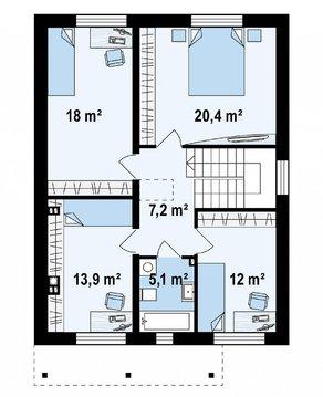 Дом 156 кв.м на участке 12,6 соток - Фото 4