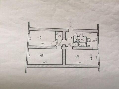 3-комн, город Нягань, Купить квартиру в Нягани по недорогой цене, ID объекта - 316680554 - Фото 1