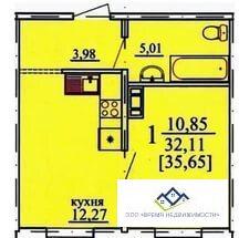 Продам Дзержинского 19, 8 эт, 35 кв.м , 1324т.р строительная отделка - Фото 2
