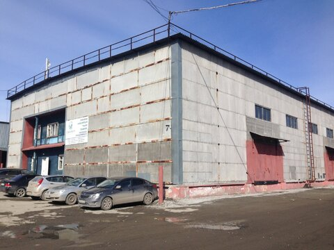 Сдам теплое производственно-складское помещение площадью 415 - Фото 1