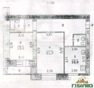 Продажа квартиры, Белгород, Ул. Щорса - Фото 3