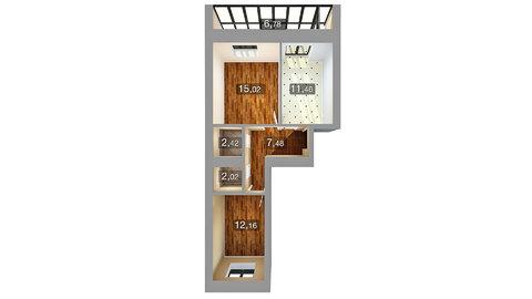 Продается двухкомнатная квартирав в центре Казани ул.Николая Ершова 4 - Фото 4