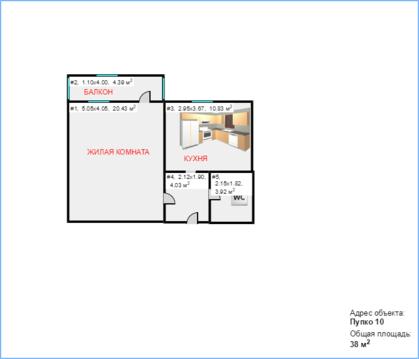 Купить новостройку с ремонтом, дом сдан, в Южном районе. - Фото 2