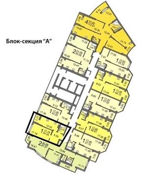 1-к квартира в новостройке Рахова/Мичурина - Фото 3