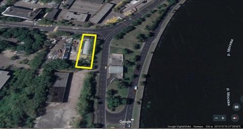 Земельный участок 10 соток с нежилым зданием 331 м2 набережная Москвы - Фото 3