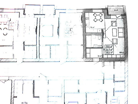 Студия 39 м.кв. ЖК Олимпия - Фото 5