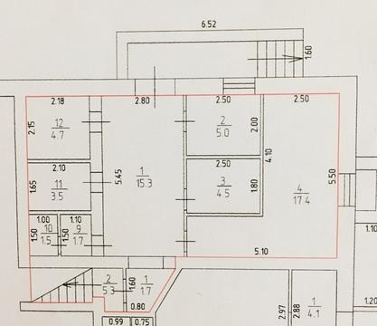 Продается не жилое коммерческое помещение 57кв.м, первая линия - Фото 2