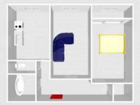 Продажа двухкомнатной квартиры на Полевой улице, 19 в Стерлитамаке, Купить квартиру в Стерлитамаке по недорогой цене, ID объекта - 320178056 - Фото 1