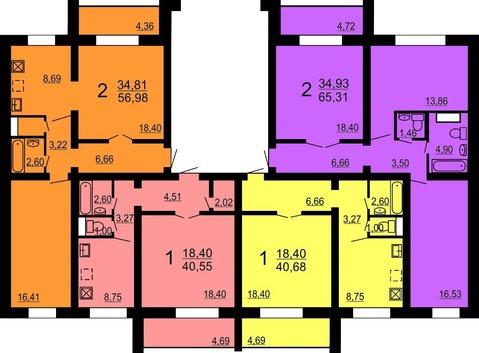 Продам квартиру Краснопольский пр 1стр , 1 эт, 67 кв.м, цена 2090 т.р. - Фото 2