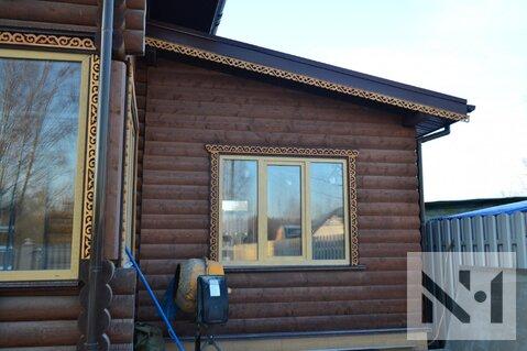 В продаже дом 90 м2 с резными деталями на уч. 8 сот. вблизи Питера - Фото 4