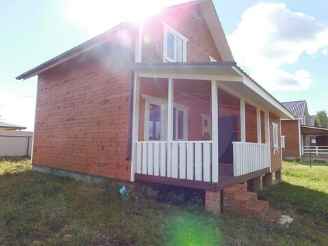 Дача готовый дом пос. Тишнево Киевское Минское шоссе - Фото 4