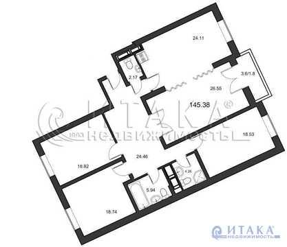 Продажа квартиры, м. Озерки, Тореза пр-кт.