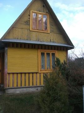 Продам 2-хэтажный дачный домик в ст Станкостроитель Барановичского р-н - Фото 1