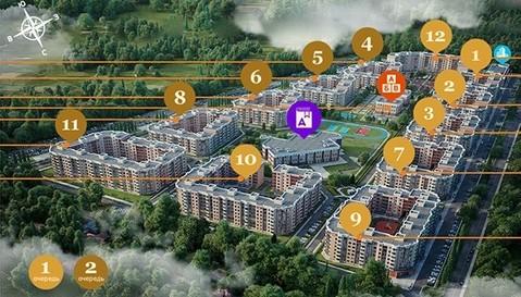 Двухкомнатная квартира в ЖК Мытищи Lite, выдача ключей - Фото 4