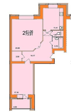 2 650 000 Руб., Продажа квартиры, Рязань, дп, Купить квартиру в Рязани по недорогой цене, ID объекта - 322620368 - Фото 1