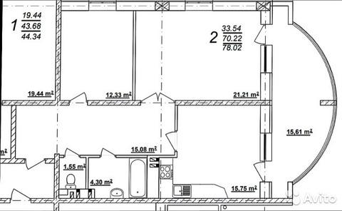Продам 2-х комнатную квартиру в новом монолитном доме - Фото 5