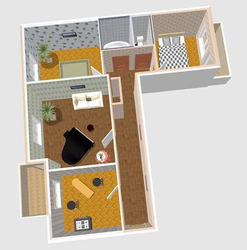 Продажа 3-х комнатной квартиры по цене 1-но комнатной - Фото 2