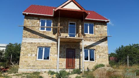 Продается недостроенный 2-х этажный дом в ст Бриг на Фиоленте - Фото 1