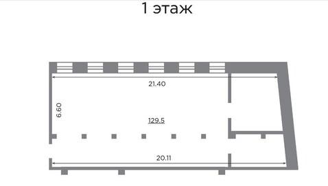 Элитный офис (псн) 130 м2 в БЦ Атмосфера, Сущевская 25с1 - Фото 3