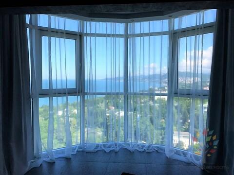 Однокомнатная квартира с видом на море в ЖК Виктория - Фото 1