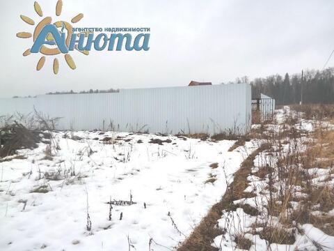 Продается участок 26 соток в заповеднике «Барсуки» деревне Тростье - Фото 3