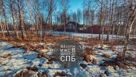 Кп Форпост, ИЖС, 10,5сот, Ломоносовский район - Фото 1