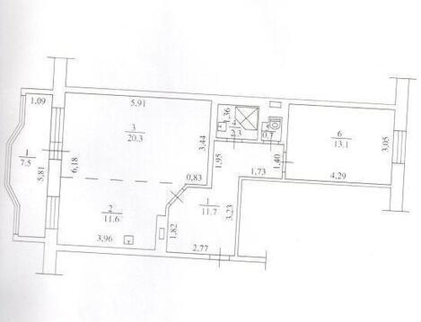 Продам 2х комнатную квартиру Ивана Черных 3 - Фото 3