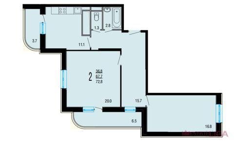 Продажа квартиры, Балашиха, Балашиха г. о, Ул. Демин луг - Фото 4