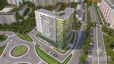 Продажа апартаментов г.Королев, Октябрьский б-р, 26 - Фото 1