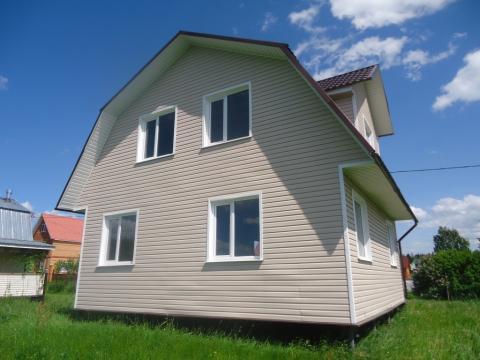 Продается 2х этажная дача 120 кв.м. на участке 8 соток - Фото 1