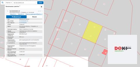Продажа земельного участка ИЖС в городе Егорьевск