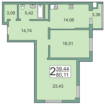 3 895 000 Руб., Продажа квартиры, Рязань, Горроща, Купить квартиру в Рязани по недорогой цене, ID объекта - 321895259 - Фото 1